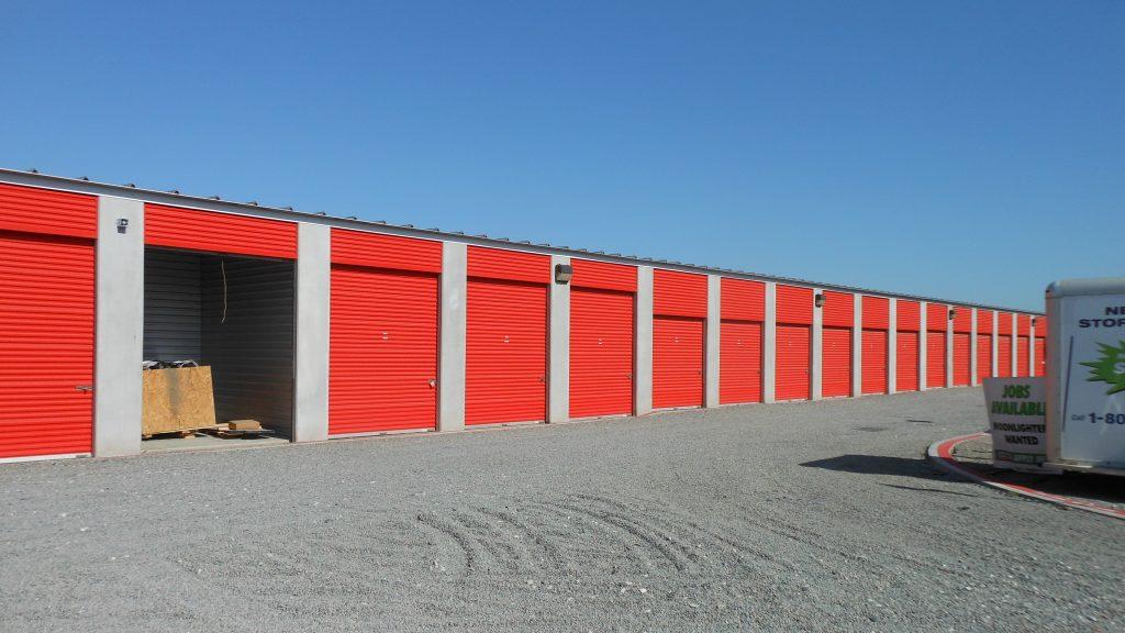 Allen-Storage unit doors