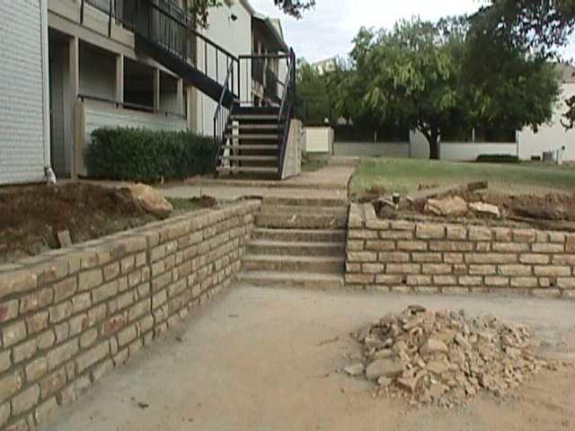 Aspen Hills Apartments-After new retaining walls #1