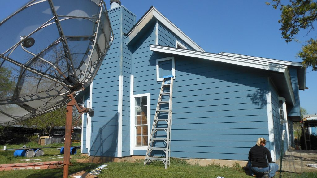 Burleson-After siding paint #3