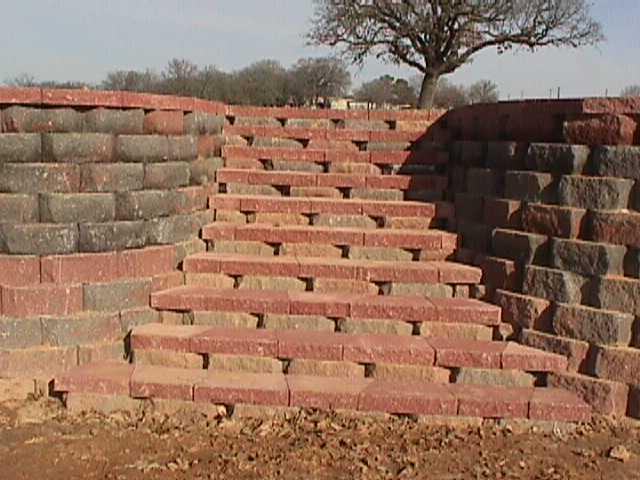 Butler-Retaining wall