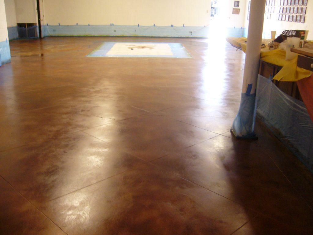 Directors Circus Building-Stain floor #2